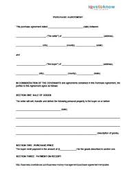 Real Estate Purchase Agreement Form Free Templates With Sample House ...