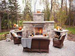 simple outdoor fireplace plans