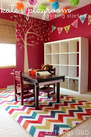 kate s colorful playroom getting started
