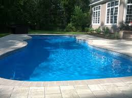caribbean style fiberglass inground pool luxury pools and living
