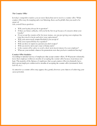 Example Of Counter Offer 015 Counter Offer Letter Template Ideas Samples Sample