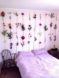 flower wall designs for a bedroom