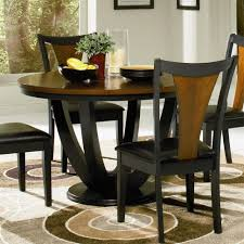 black dining room sets round. Full Size Of Kitchen Ideas:black Dining Room Table Set Black Round Large Sets S