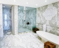 Good White Marble Tile Bathroom Ideas On With HD Resolution - White marble bathroom
