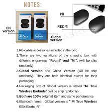 [<b>LATEST</b>] <b>Xiaomi Redmi</b> AirDots / Airdots S/ Airdots 2 TWS <b>Mi</b> True ...