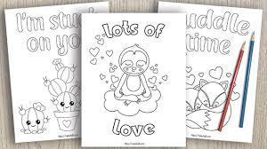 Click a valentines category below for the printable. 15 Valentine S Day Coloring Pages For Kids The Artisan Life