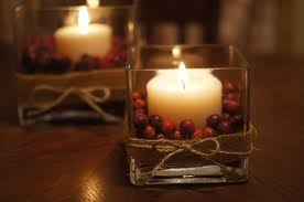 Simple Candle Decoration Decorations Simple And Easy Thanksgiving Centerpiece Come With