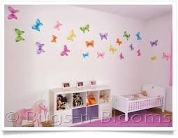 bedroom wall designs for girls. Bedroom Girls Butterfly Decorations Wall Designs For Girls