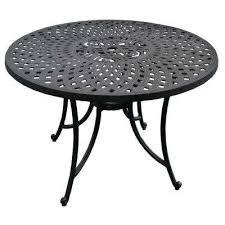 sedona cast aluminum outdoor dining table