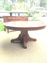 round table lake oswego round extendable quarter oak table no leaf and hutch h with detachable round table lake oswego