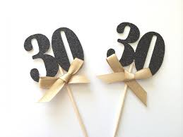 30th Anniversary Decorations 30th Cake Decorations Cake
