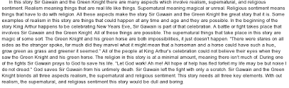 sir gawain and the green knight essay sir gawain and the green knight essay enotes com
