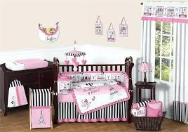 pink paris bedding crib bedding set pink paris bedding