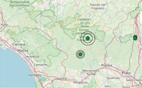 Terremoto in Toscana oggi, 21 gennaio 2020, scossa M 3.0 in ...