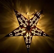 Led Papierstern 3d 45cm Led Batterie Betrieben Mit Timer Weihnachts Stern Xmas Star