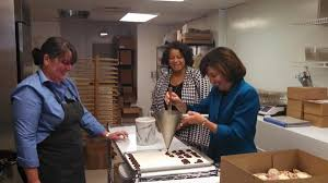 """Kathy Hochul on Twitter: """"Bold Chocolatier with @MichaelleSolage , Owner Jeannine  Maloney, and daughter Katherine http://t.co/aHPZBim59T"""""""