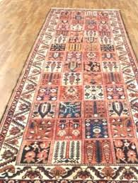 4 x 12 runner rug low pile muted color narrow