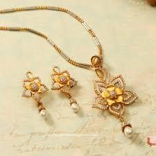 latest model gold chain pendant sets