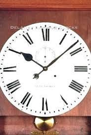 18 inch wall clock wall clock lobby inch wall clock inch atomic wall clock la crosse