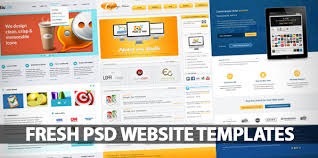 Free Psd Website Templates Mesmerizing Fresh Free PSD Website Templates Freebies Graphic Design Junction