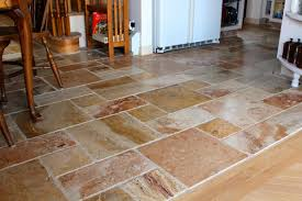 Limestone Floor Tiles Kitchen Glamorous Limestone Distressed Edge Kitchen Floor Tiles With