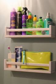 DIY bathroom shelves from IKEA Bekvam (via ourlifeinaclick.blogspot.ru)