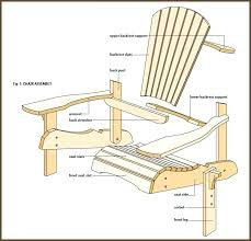 Adirondack Rocking Chair Plans Home Interior and Exterior Decoration