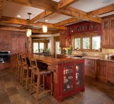 rustic kitchen island table. Rustic Kitchen Ideas 2016 Island Table
