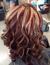 Auburn color with blonde highlights by Melissa at Southern Roots ...