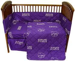 kansas state baby crib set ksu wildcats bedding