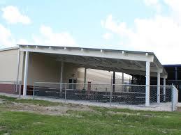 steel single slope shelter manufacturer rcp shelters