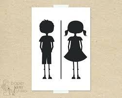 boys and girls bathroom signs. Boy And Girl Bathroom Sign Little Fun Toilet Symbol Amenities On Restroom Signs Boys Girls I