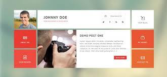 Metro CV WordPress ResumeTheme