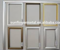 aluminium picture frame extrusions anodized aluminum picture frames brushed images