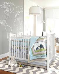 grey white baby nursery bedroom nursery ...