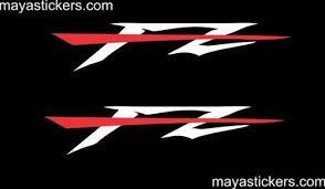 yamaha fz bike sticker at rs 168 pair