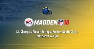 Chargers Depth Chart Madden 19 Los Angeles Chargers Player Ratings Roster