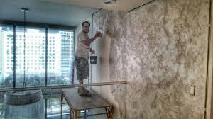 Venetian plaster wall Bedroom Venetian Plaster Walls Installation Luxe Walls Venetian Plaster Walls Installation Catalunyateam Home Ideas To