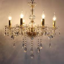 bedroom 6 arms mini led candle chandelier light modern crystal pertaining to brilliant household crystal candle chandelier designs