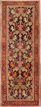 antique bidjar persian lion rug