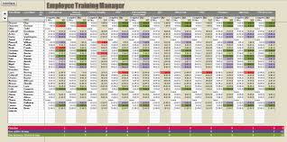 Employee Training Record Template Excel Free Uk Templates Tr