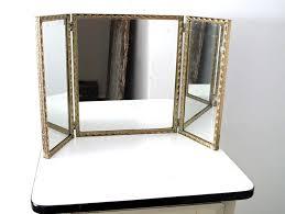 Three Way Vanity Mirror Tri Fold Vanity Mirror 55 Cool Ideas For Vintage French Three Way