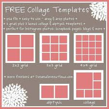 Photo Collage Template A Free Download 20632700007 Free Collage