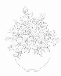 Kleurplaat Bloemen Beste Van Coloring Page Bouquets Kids N Fun