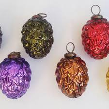 vinita impex pine mercury glass x mastree ornaments