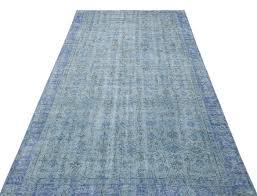 usak overdyed carpet 263 cm 152 cm