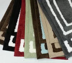 save 25 2 piece regency manor microfiber bath rug set