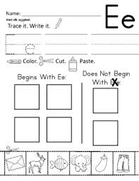Phonics printable worksheets and activities (word families). Zoo Phonics Inspired Alphabet Worksheet Set 3 Beginning Sounds Cut Paste