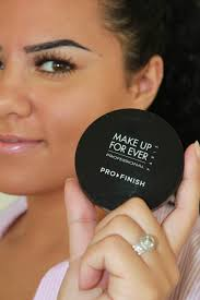 the 39 pro finish 39 is a powder foundation by make up for ever and it foundation ings