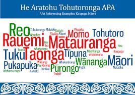 He Aratohu Tohutoronga Apa Apa Referencing Examples